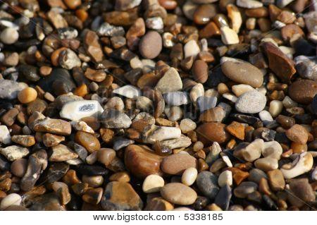Stones On The Beach