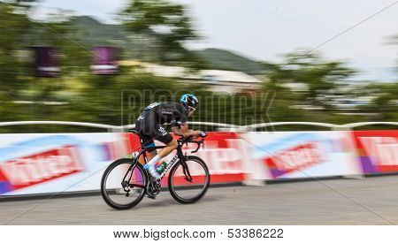 The Cyclist Geraint Howell Thomas