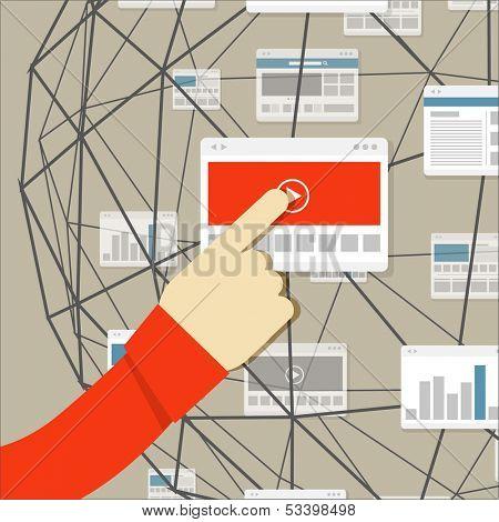 Using modern digital media environment