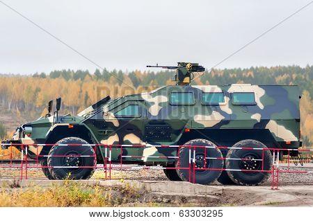 SBA-60K2 Bulat armored vehicle (Russia)