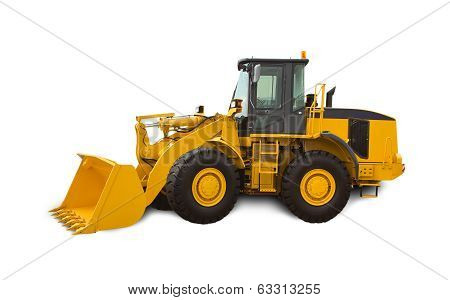Yellow Bulldozer