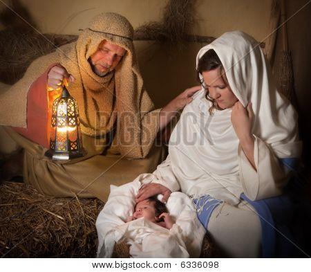 Nativity Scene Alive