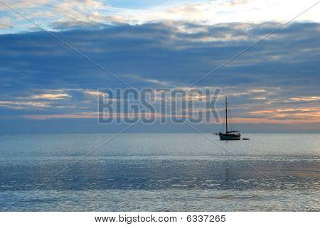 Sunrise Across The Ocean