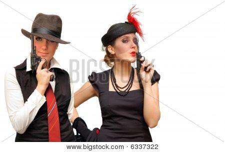 Two Armed Beautiful Girls
