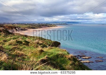 Portrush Bay  In County Antrim, Northern Ireland .