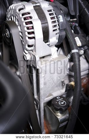 Alternator Elements In A Car