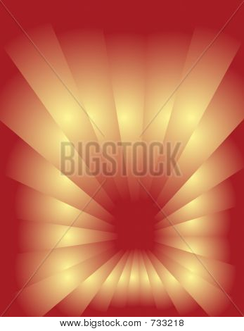 Abstract Background - Dark Red-Yellow