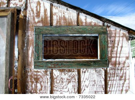 Old Miner's Shack Window