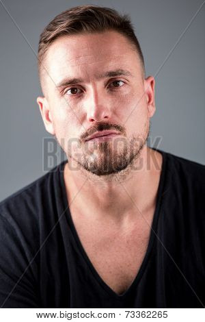 Male Model With Rugged Stylish Look