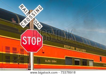 Milwaukee Road #261 - Brook Park Crossing 2014