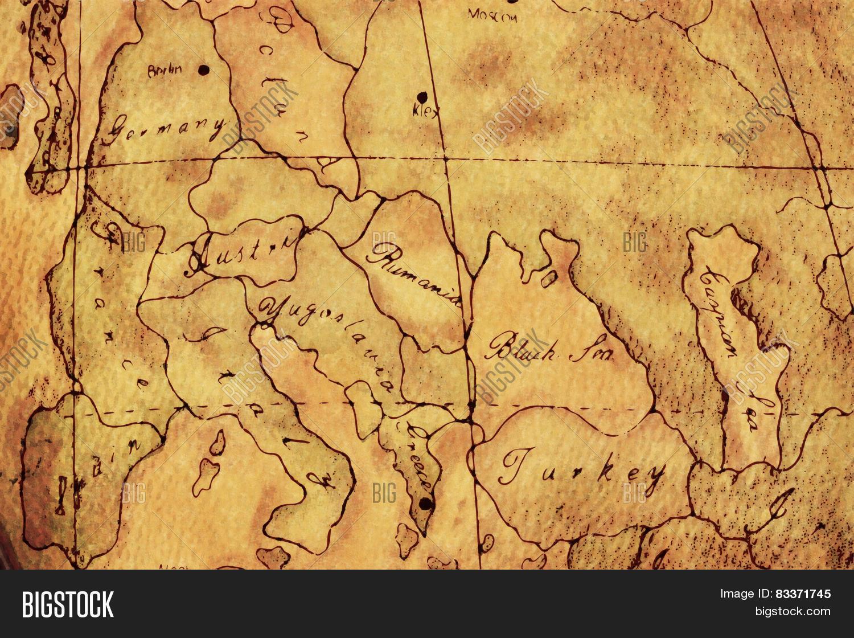 Old world europe map image photo free trial bigstock old world europe map background gumiabroncs Choice Image