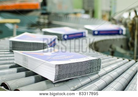 Print shop Finishing line