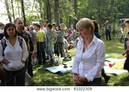 Ecologist Eugene Chirikov Gives Interviews To Journalists