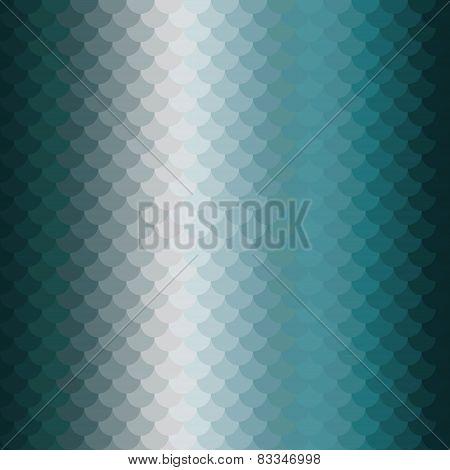 blue aquamarine scales