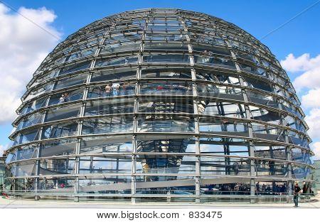 German parliament building dome, Berlin