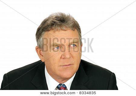 Distrusting Businessman