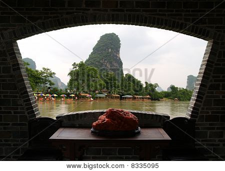 The Gui-lin Landscapes In China