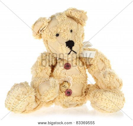 Yellow Vintage Teddy Bear