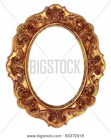 Gold Antique Ornate Picture Frame