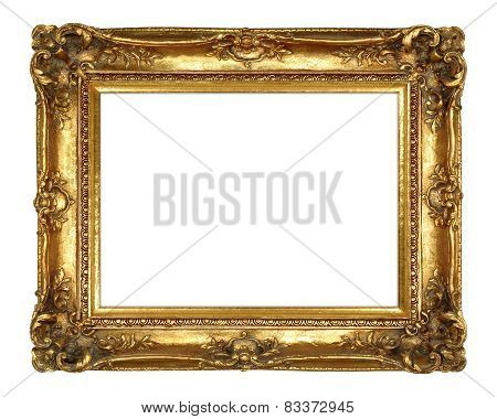 Traditional Elegant Gold Picture Frame