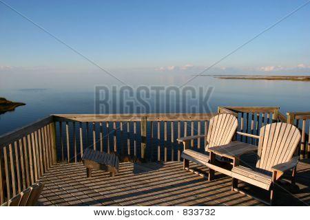 A deck