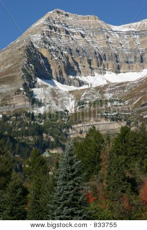 Back of Mount Timpanogos