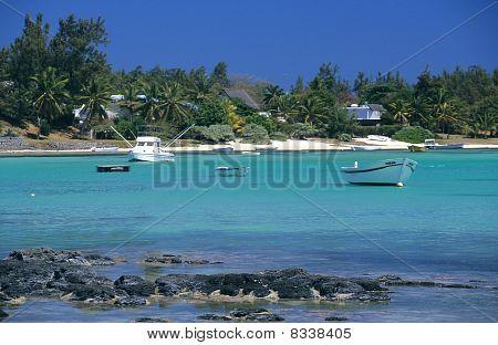 Blue Lagoon At Bain Beauf Beach