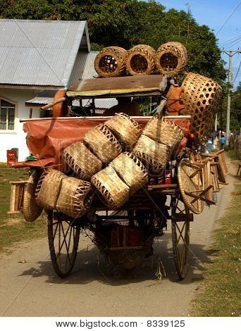Philippine Basket Seller
