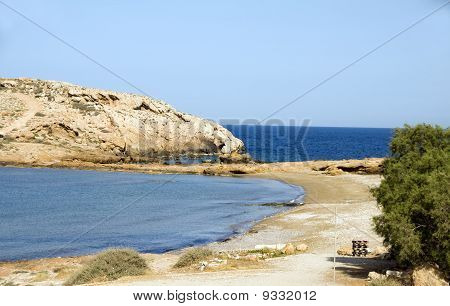 Koumbara Beach Ios Cyclades Greece