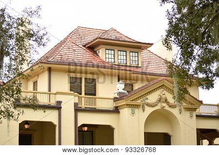 Building In Park In Gainesville, Florida