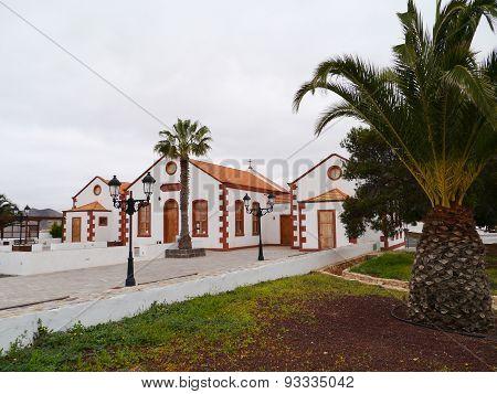 Historic building in La Ampuyenta on the island Fuerteventura