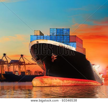 Big Commercial Ship