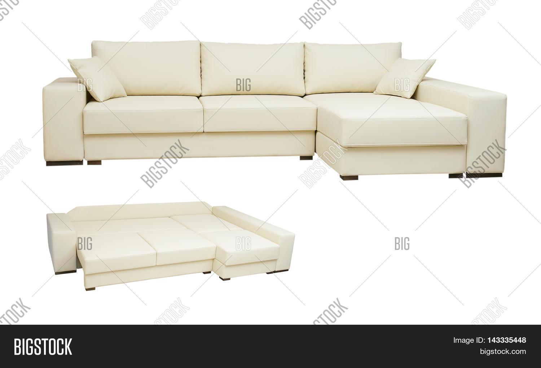 Beautiful Leather Sofa Image Photo Free Trial Bigstock