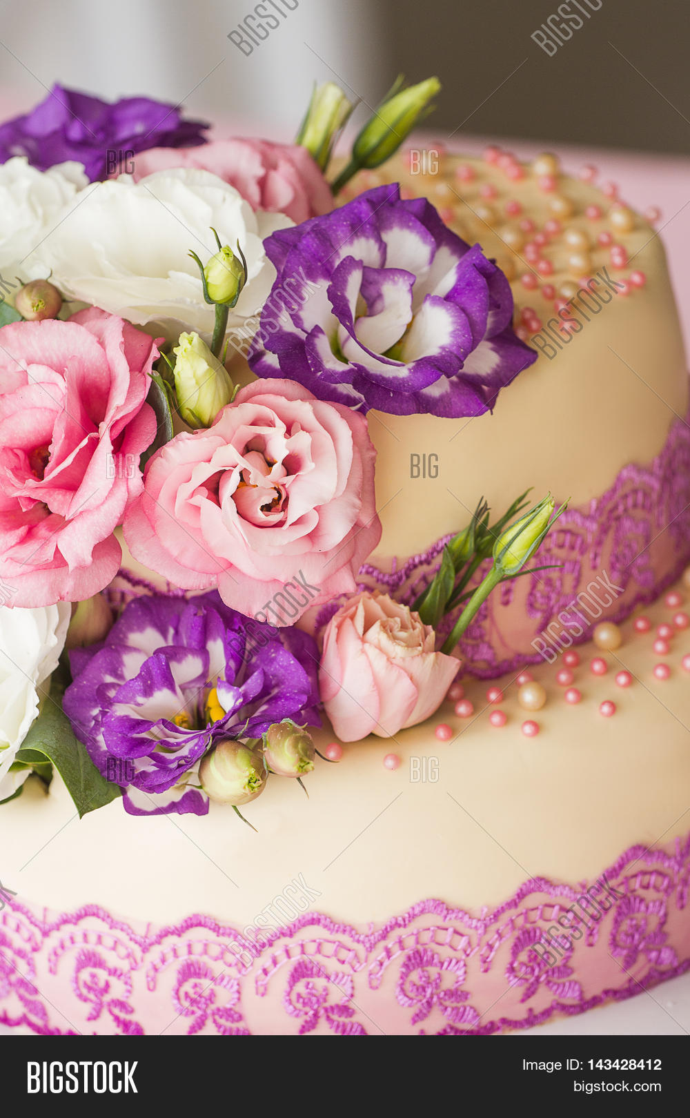 Cake Ivory Color Image & Photo (Free Trial) | Bigstock
