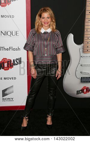 NEW YORK-AUG 3: Actress Candace Cameron-Bure attends the 'Ricki And The Flash' New York premiere at AMC Lincoln Square Theater on August 3, 2015 in New York City.