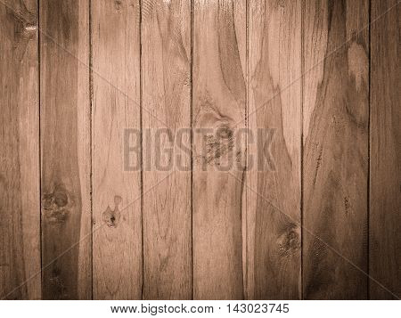 Wood panel plank texture background image used retro vintage filter