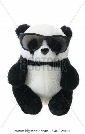 Panda Soft Toy With Sunglasses