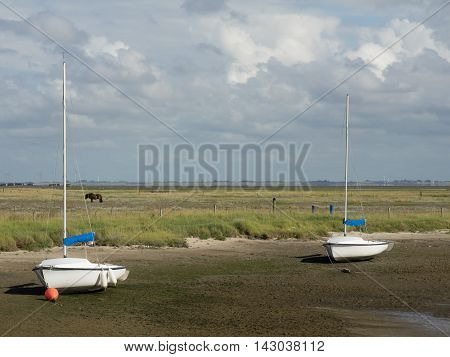 the german Island of spiekeroog in the North sea