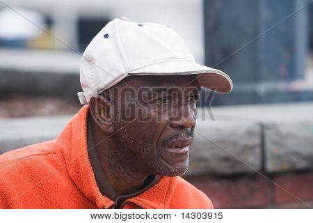 Elderly African American Man