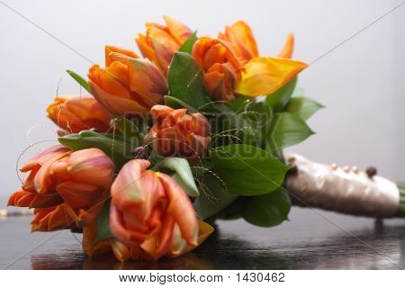 Flowers On Arm-Chair