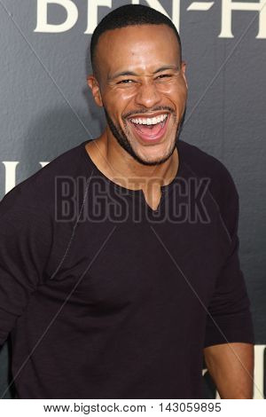 LOS ANGELES - AUG 16:  DeVon Franklin at the