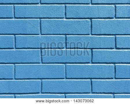 Abstract weathered texture stained old stucco blue and aged paint white brick wall background in rural room grungy rusty blocks of stonework technology color horizontal architecture wallpaper