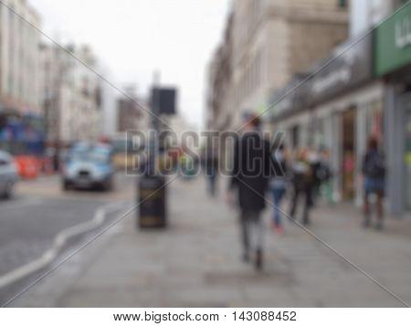 Blurred Defocused Background