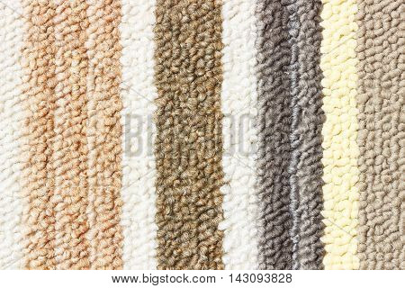 Detail of colorful doormat use for background