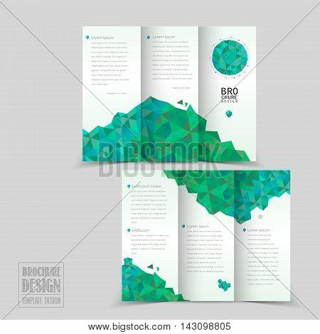 Simplicity Tri-fold Brochure Template Design