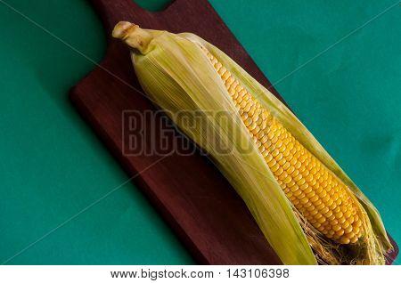 Corncob Cooked Corn