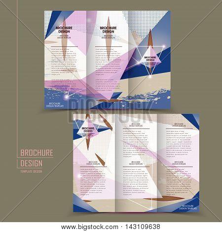 Modern Tri-fold Template Design