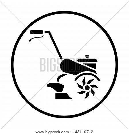 Garden Tiller Icon