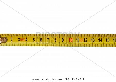 Measuring Roulette Isolated On White