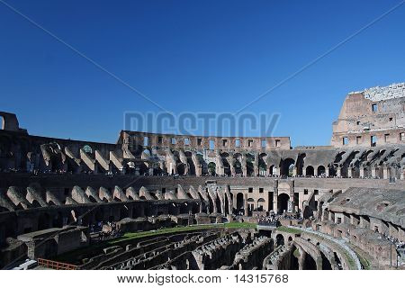 Roman Coloseum; Rome, Italy